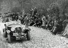 Wolseley - 1936 Lands End Trial Apr 36 Wolseley Hornet G Abecassis & JC Holdsworth